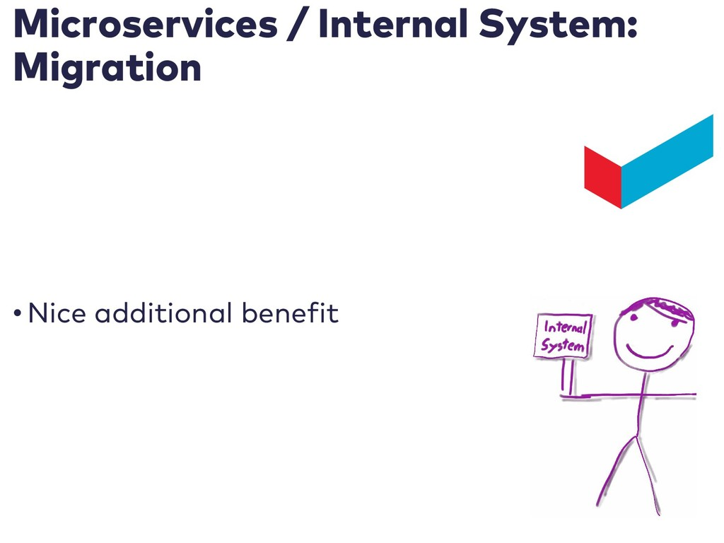 Microservices / Internal System: Migration • Ni...