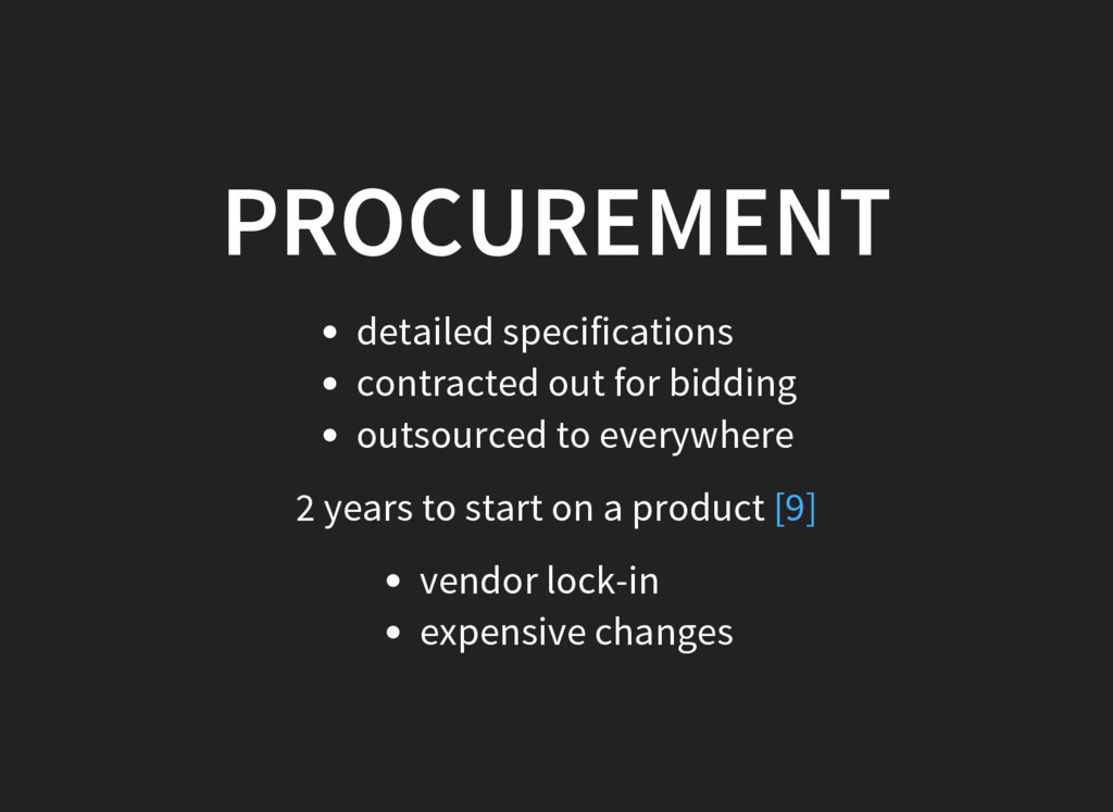 PROCUREMENT detailed specifications contracted ...