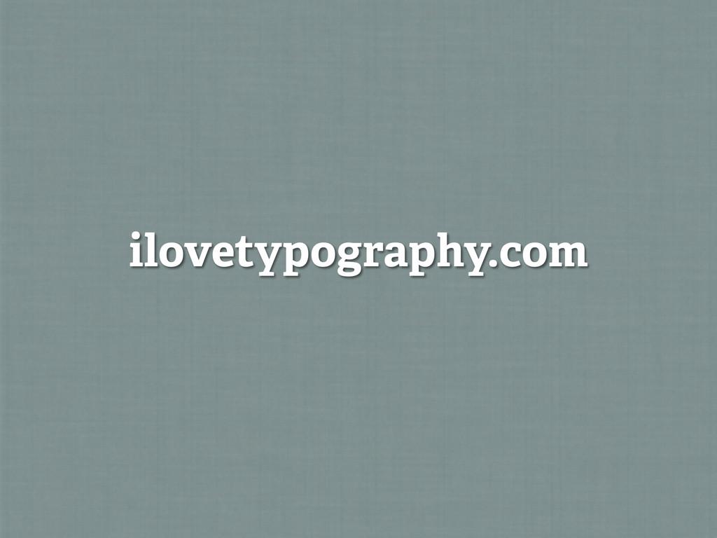 ilovetypography.com