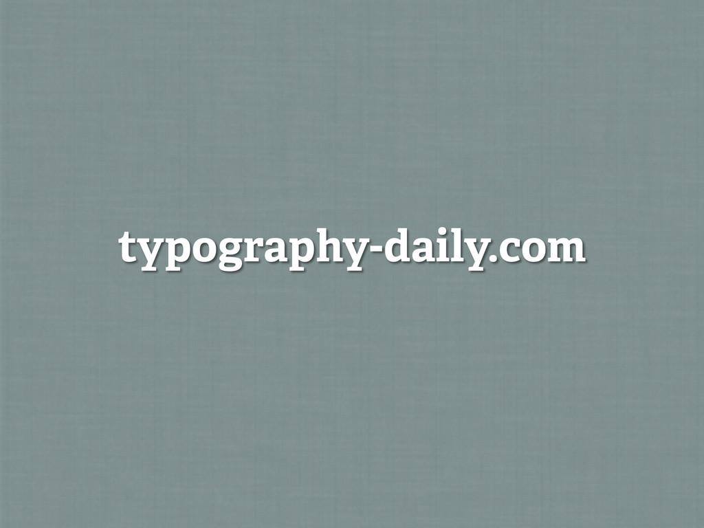 typography-daily.com