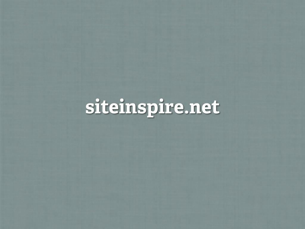 siteinspire.net