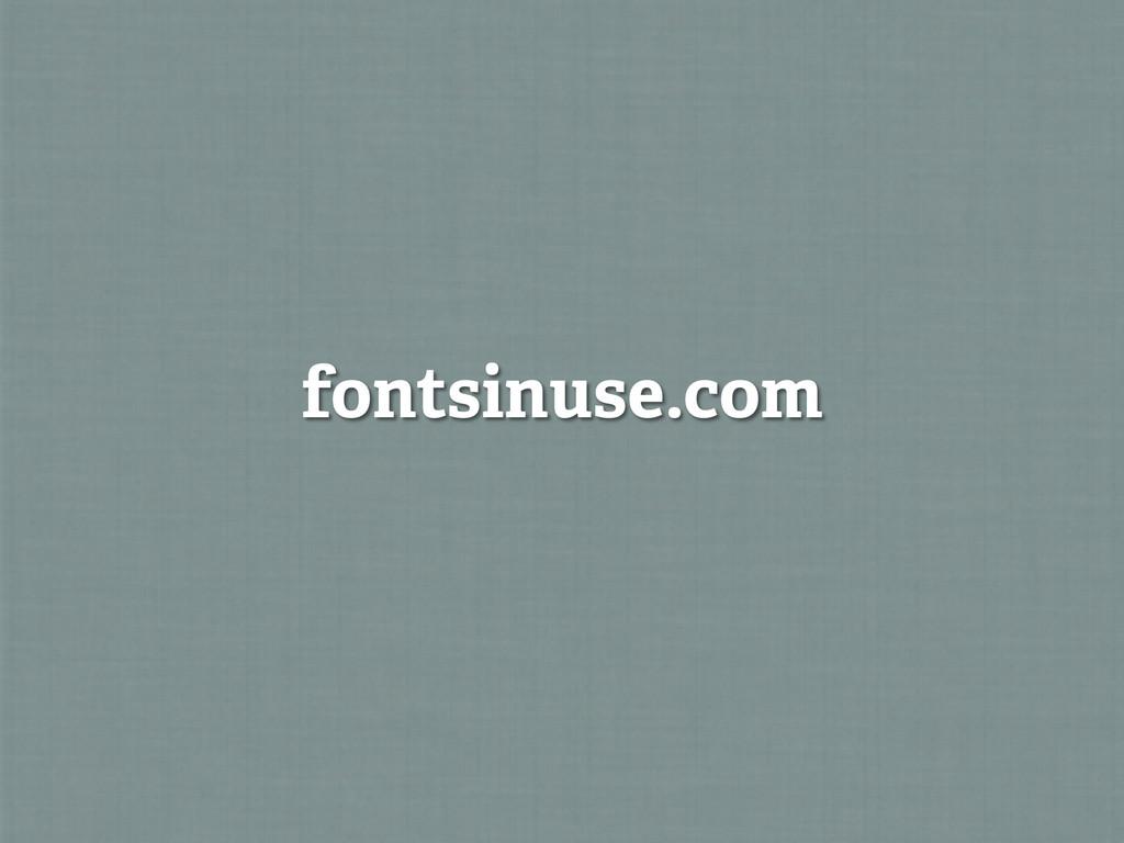fontsinuse.com