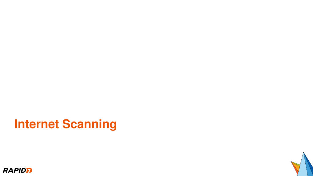 Internet Scanning