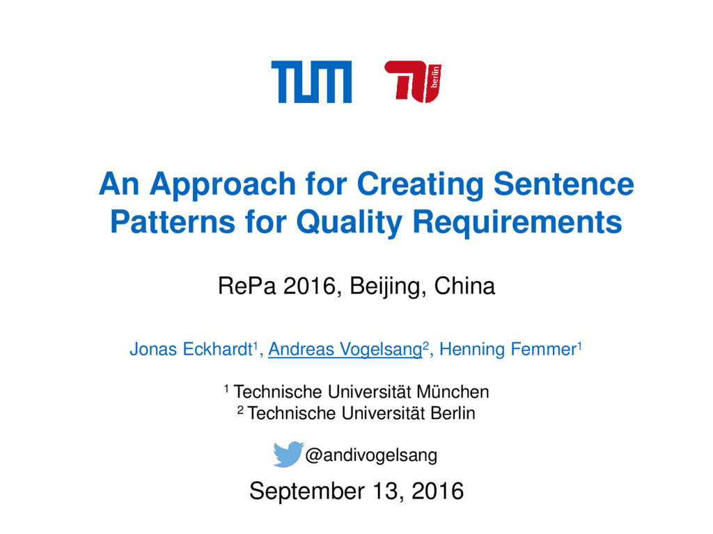 An Approach for Creating Sentence Patterns for ...