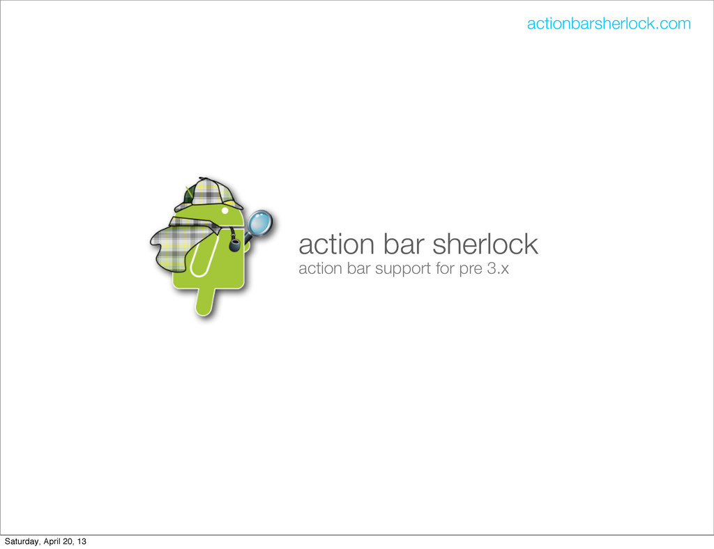 action bar sherlock action bar support for pre ...