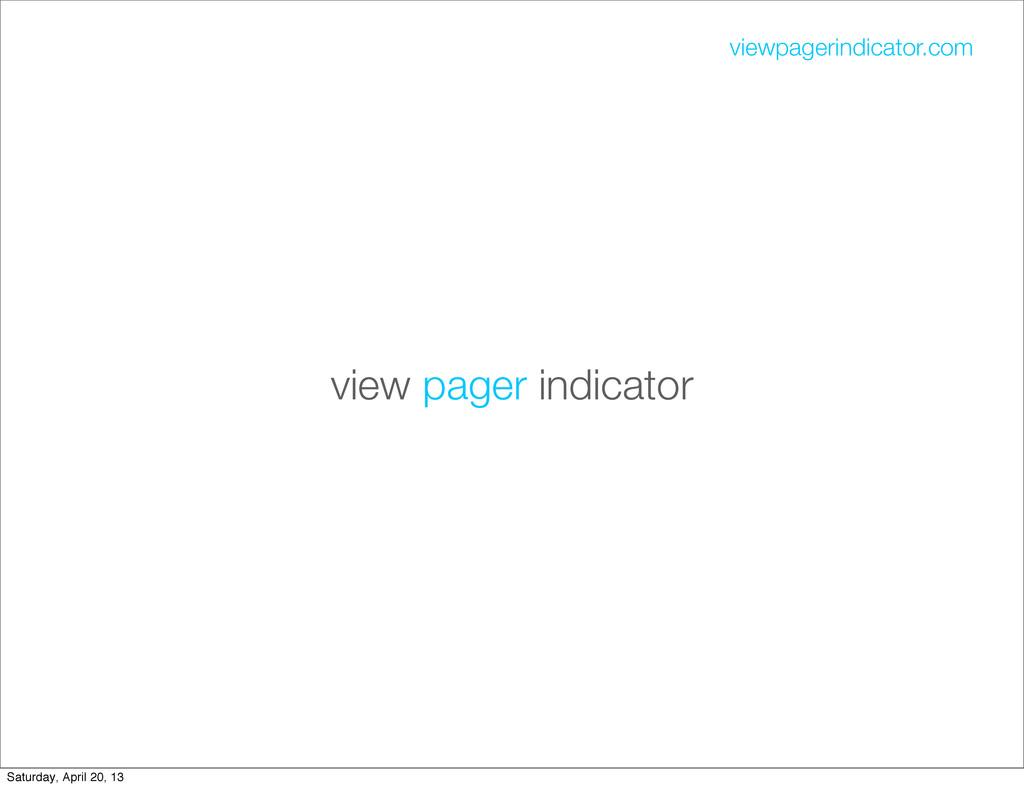view pager indicator viewpagerindicator.com Sat...