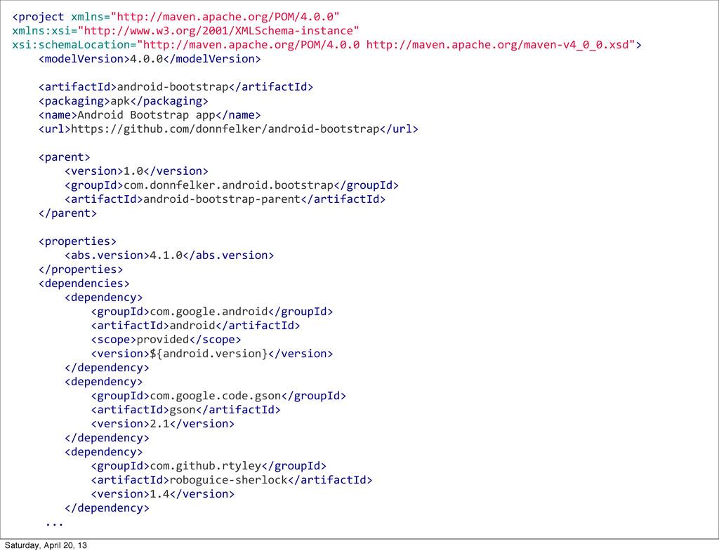 "<project xmlns=""http://maven.apache.org/POM/..."