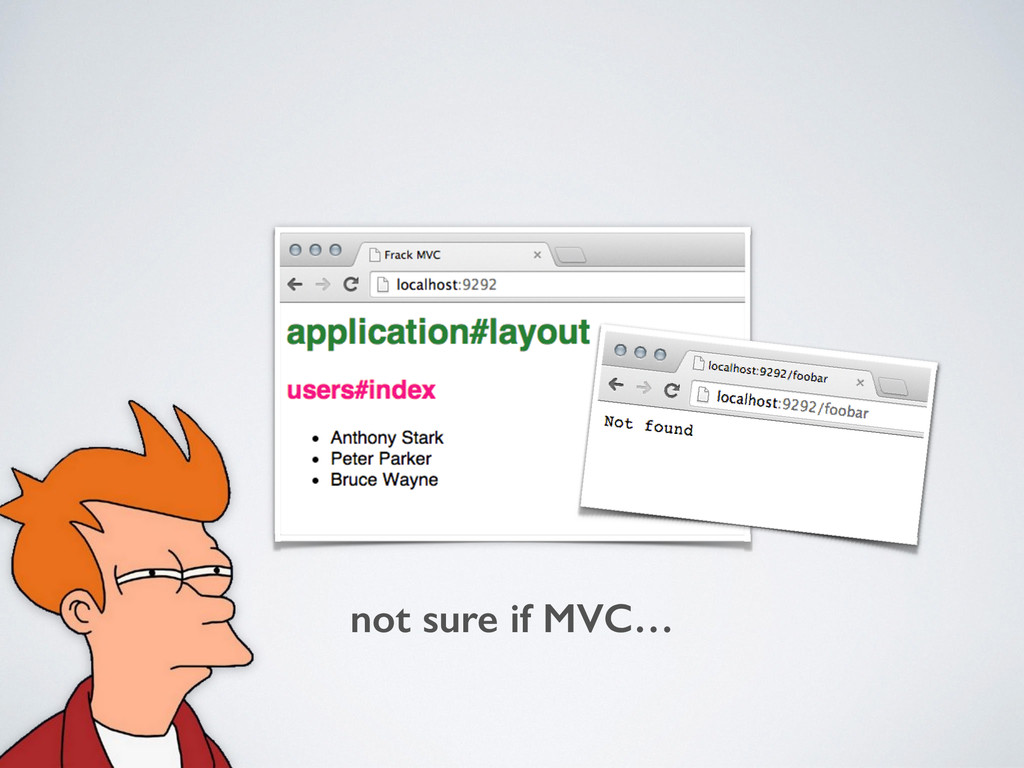 not sure if MVC…