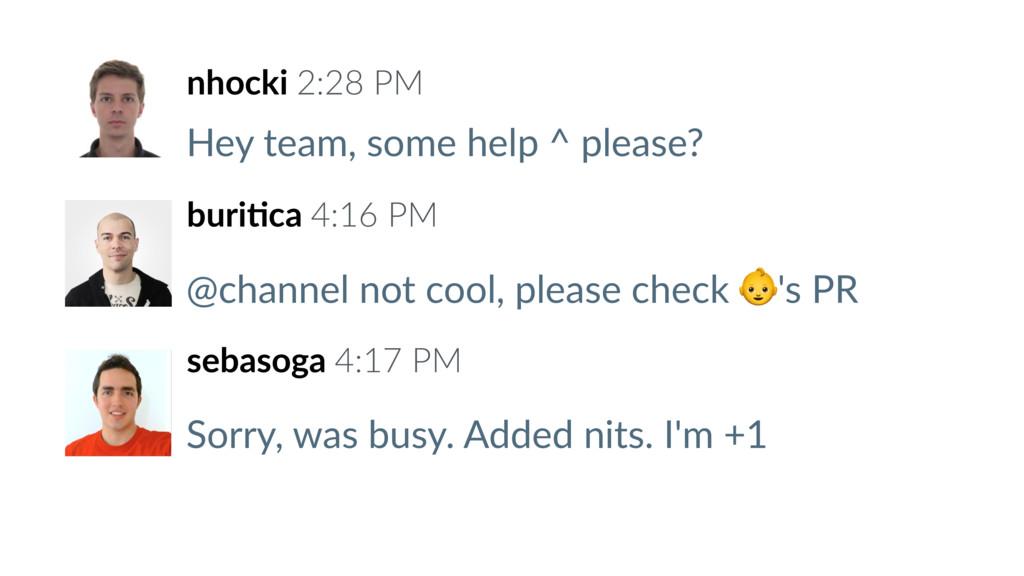 nhocki 2:28 PM Hey team, some help ^ please? bu...