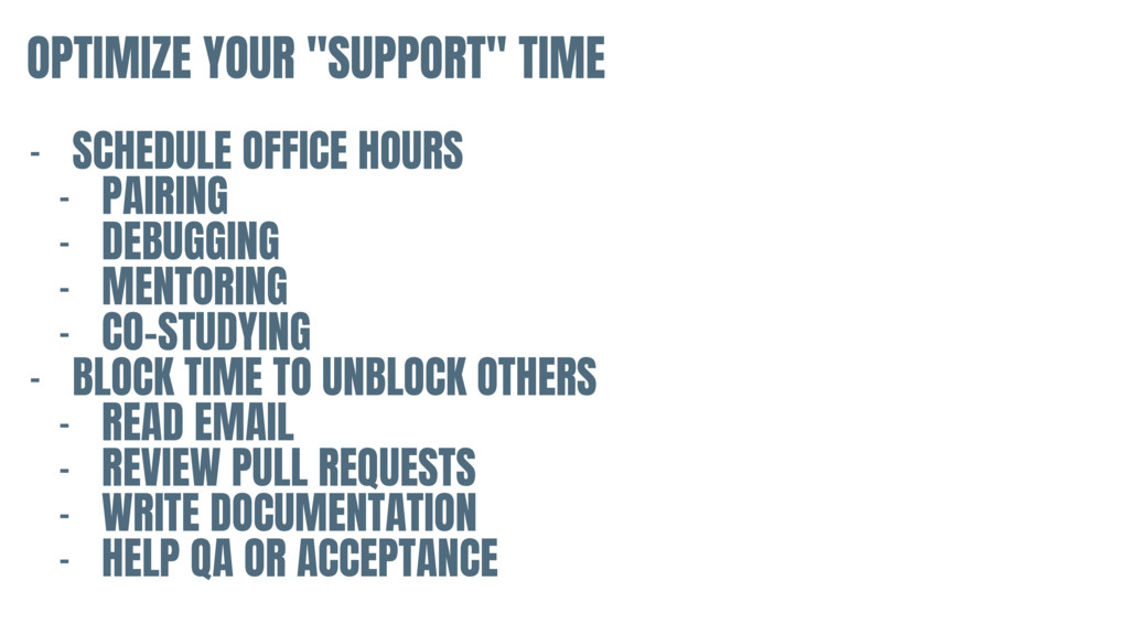 """OPTIMIZE YOUR """"SUPPORT"""" TIME - SCHEDULE OFFICE ..."""