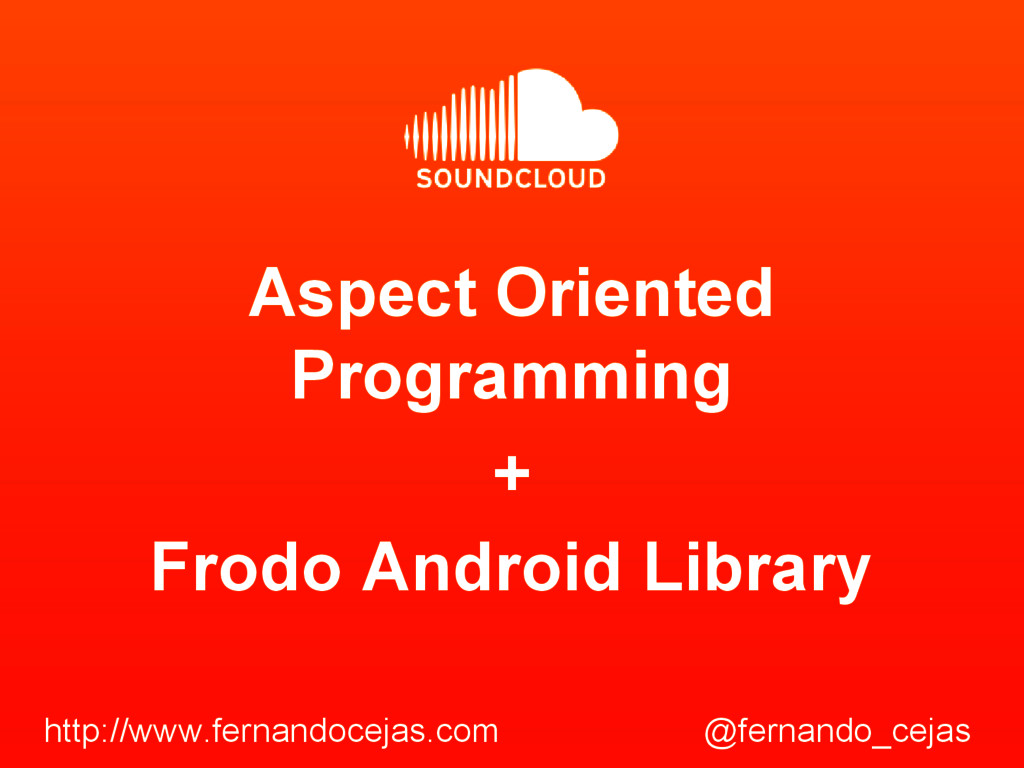Aspect Oriented Programming Frodo Android Libra...