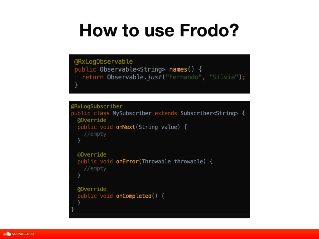 How to use Frodo? title, date, 01 of 10