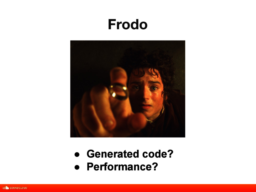 Frodo title, date, 01 of 10 ● Generated code? ●...
