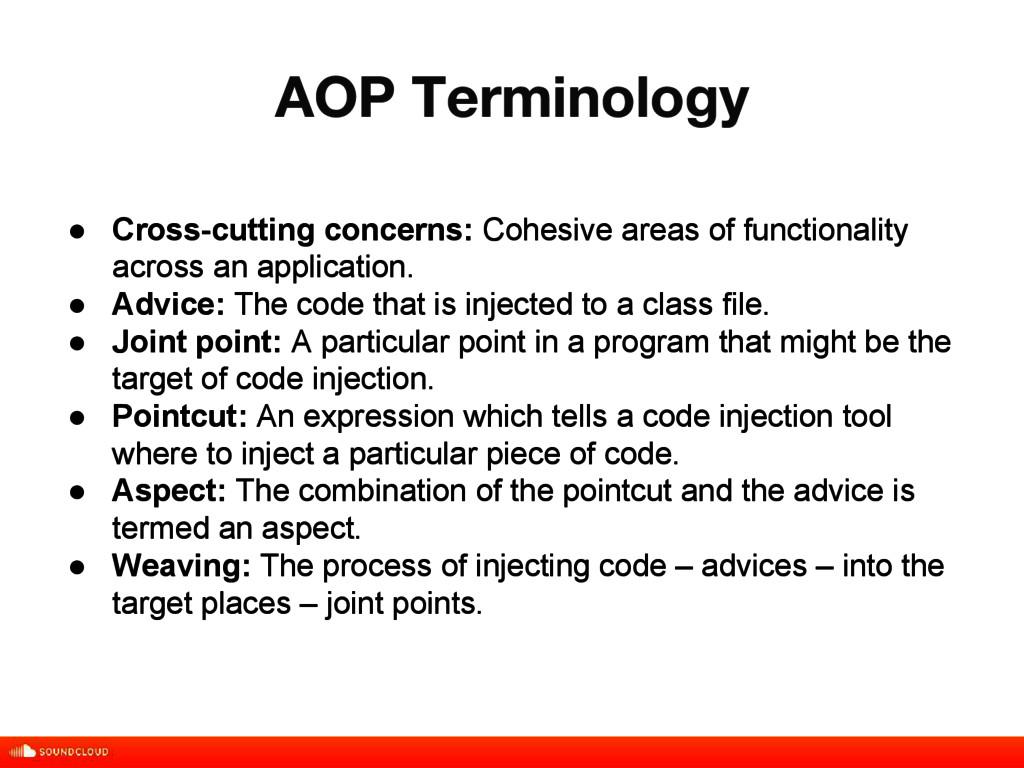 AOP Terminology title, date, 01 of 10 ● Cross-c...