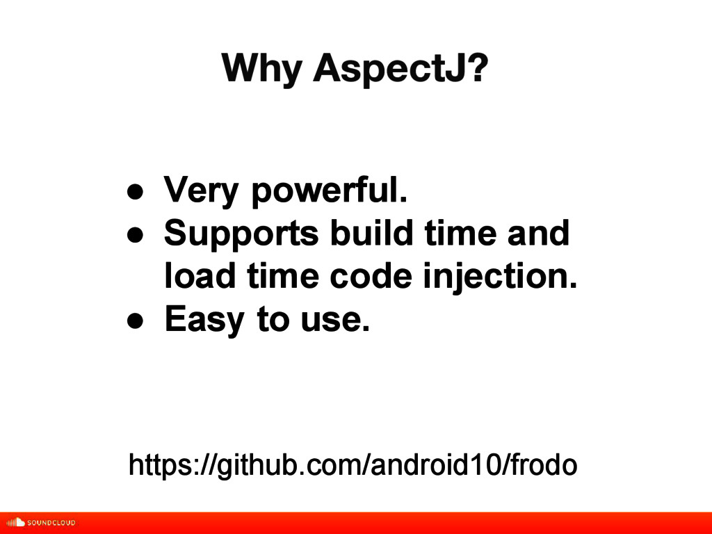 Why AspectJ? title, date, 01 of 10 ● Very power...