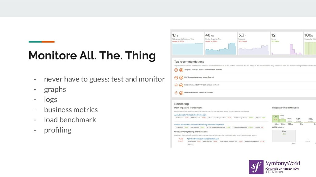 Monitore All. The. Thing - never have to guess:...