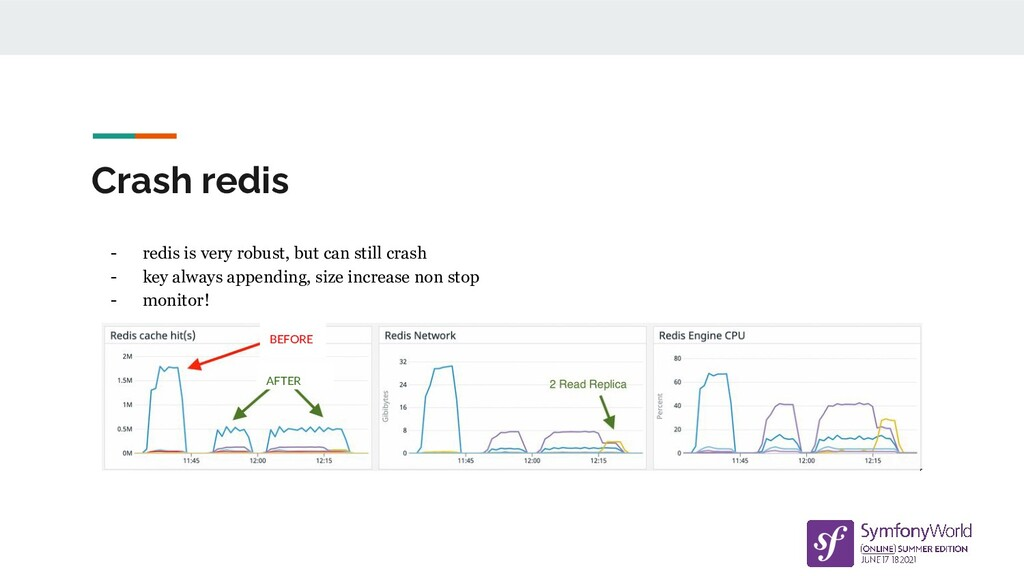 Crash redis - redis is very robust, but can sti...