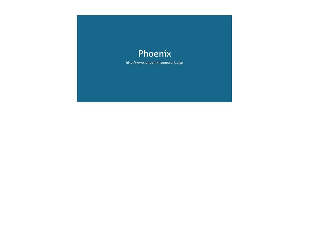 Phoenix http://www.phoenixframework.org/