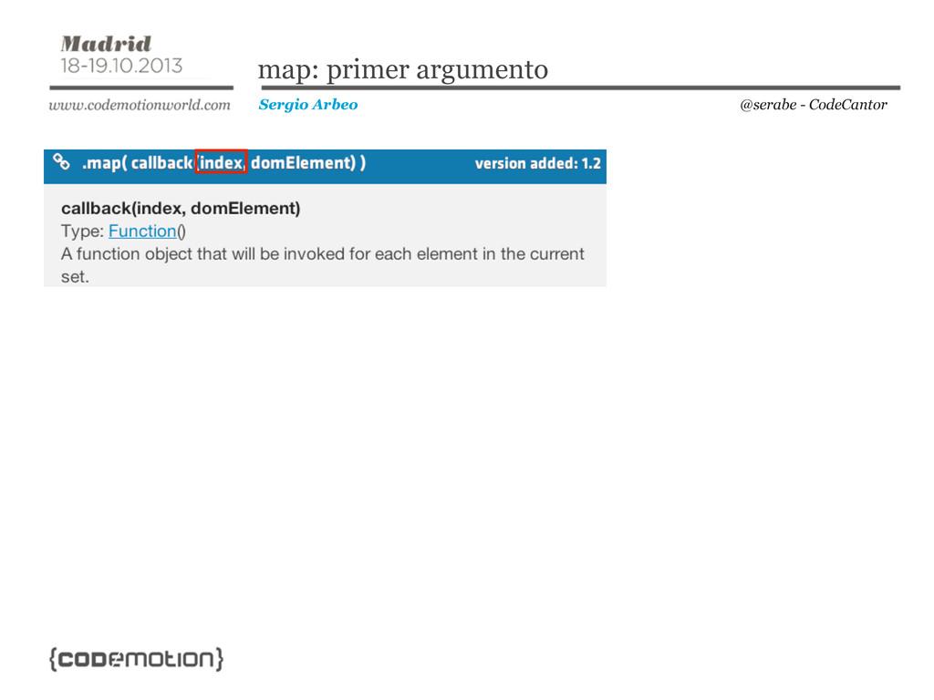 @serabe - CodeCantor Sergio Arbeo map: primer a...