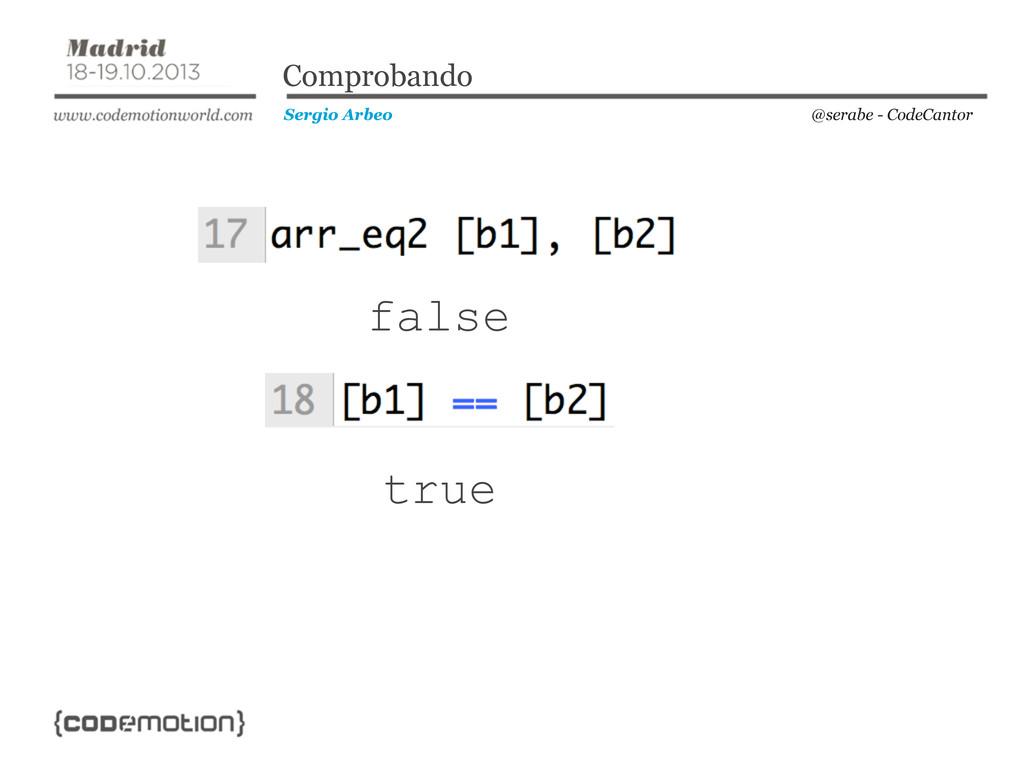 @serabe - CodeCantor Sergio Arbeo Comprobando f...