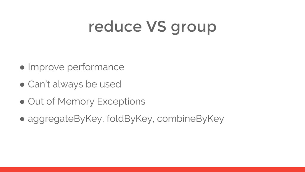 reduce VS group ● Improve performance ● Can't a...