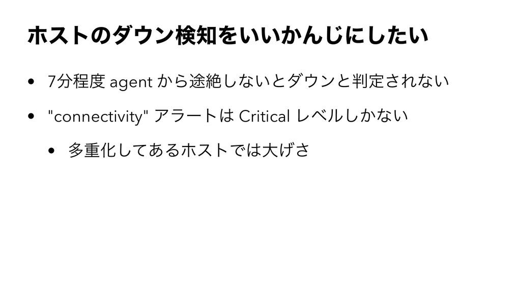 ϗετͷμϯݕΛ͍͍͔Μ͡ʹ͍ͨ͠ • 7ఔ agent ͔Β్ઈ͠ͳ͍ͱμϯͱఆ...