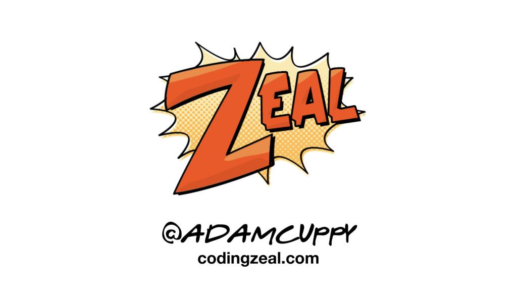 @adamcuppy codingzeal.com