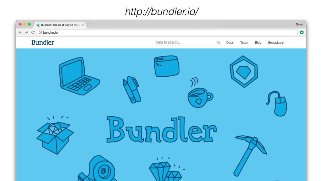 http://bundler.io/