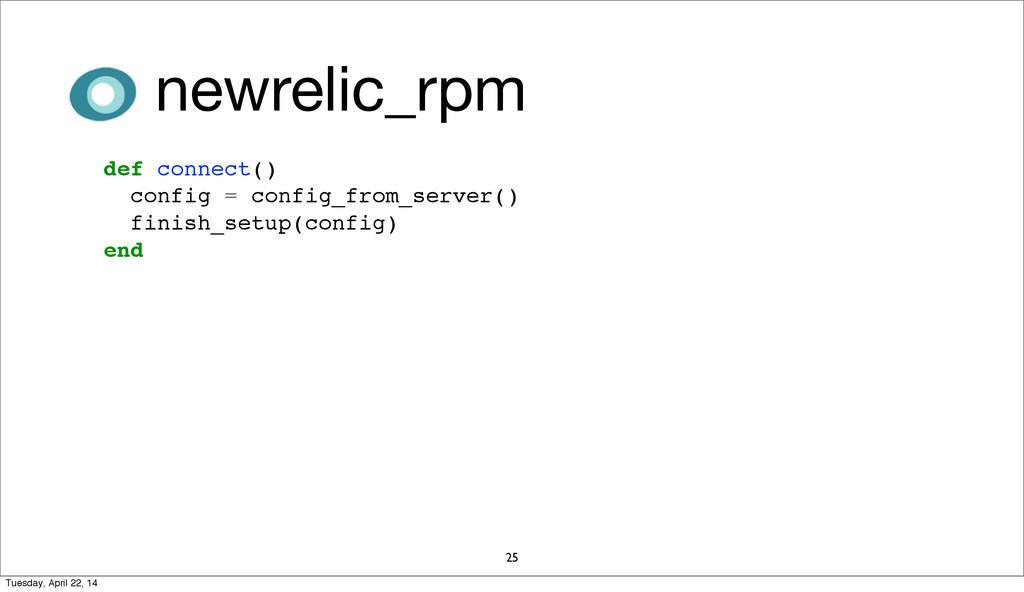 newrelic_rpm 25 def connect() config = config_f...