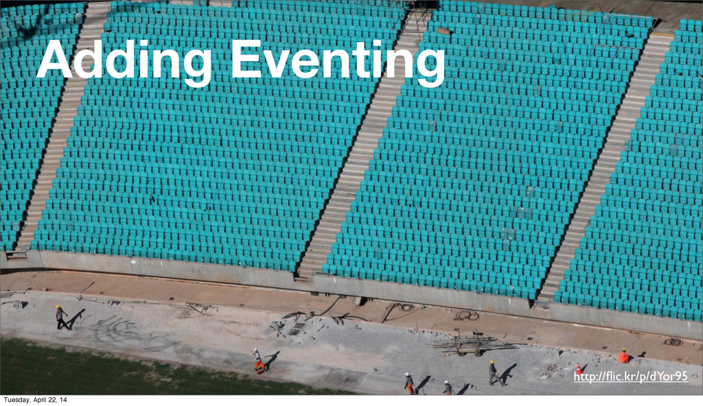 http://flic.kr/p/dYor95 Adding Eventing Tuesday,...