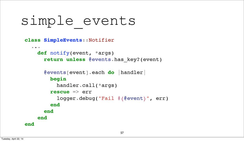 57 class SimpleEvents::Notifier ... def notify(...