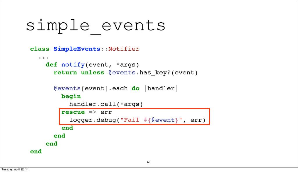 61 class SimpleEvents::Notifier ... def notify(...