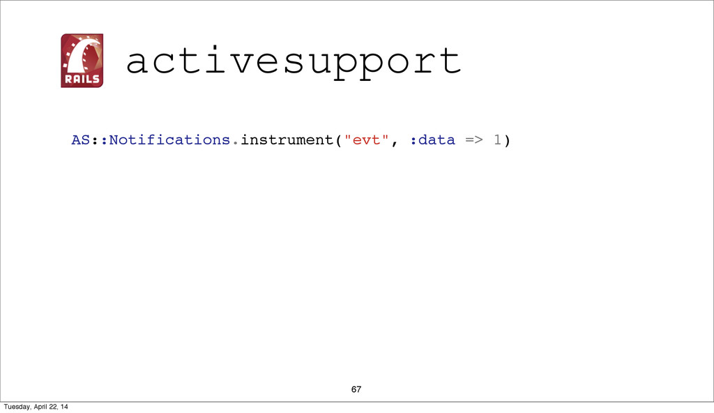 "67 AS::Notifications.instrument(""evt"", :data =>..."