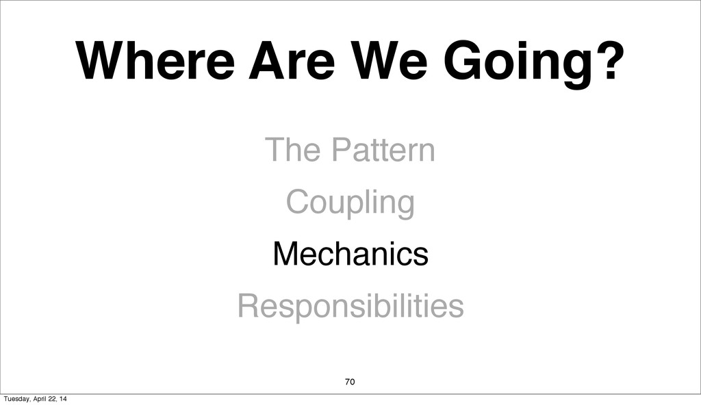 Where Are We Going? The Pattern Coupling Mechan...