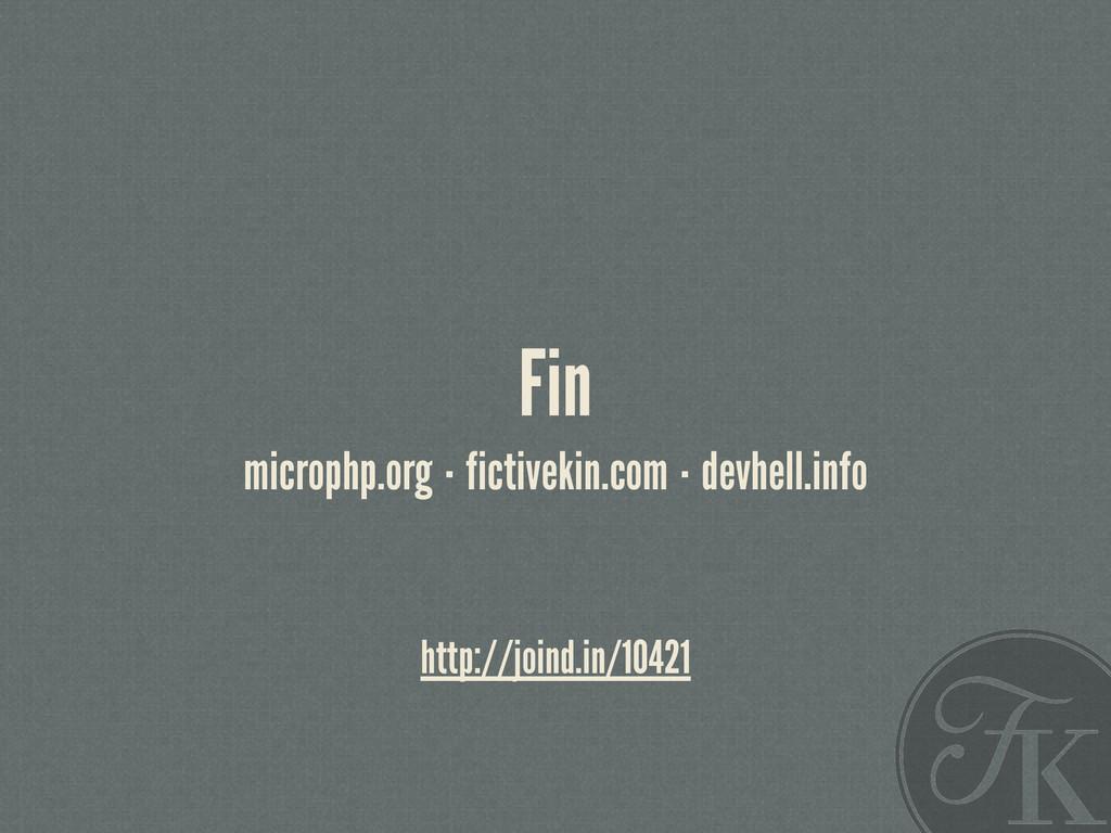 Fin microphp.org·fictivekin.com·devhell.info ht...
