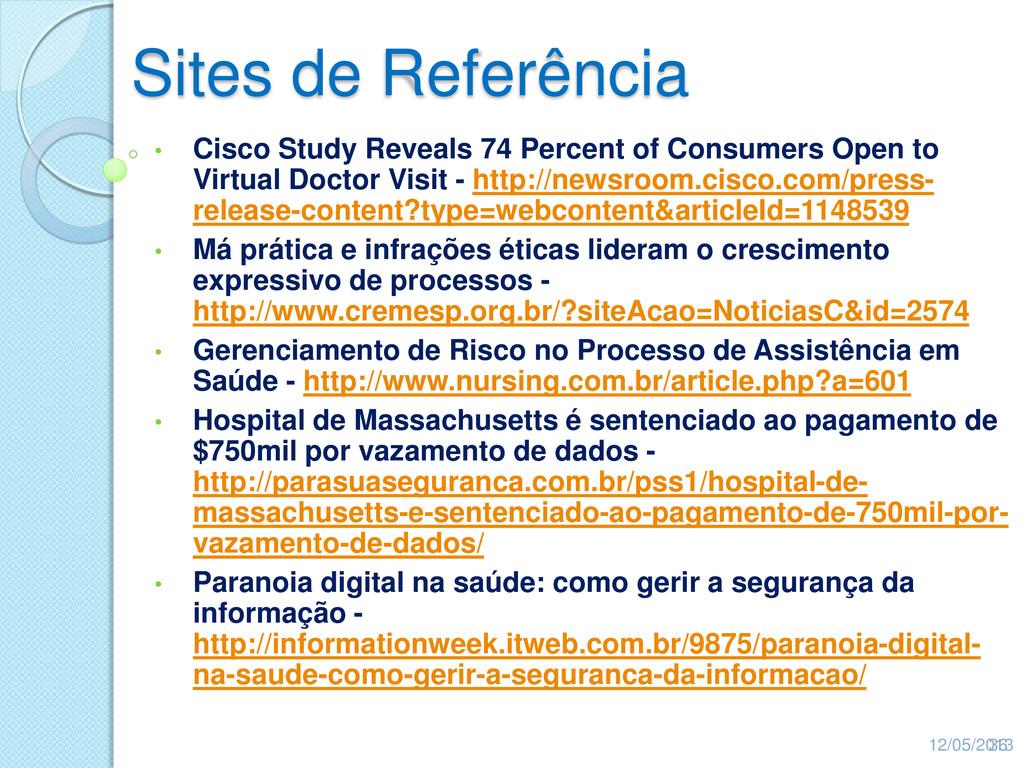 Sites de Referência • Cisco Study Reveals 74 Pe...