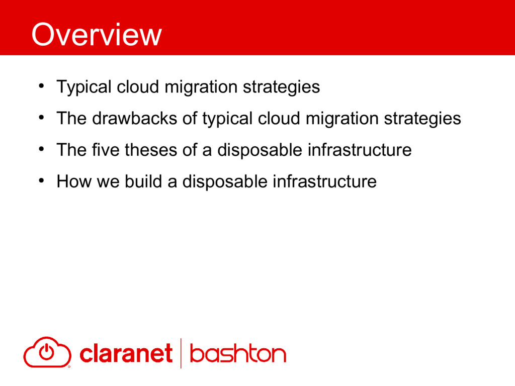 ● Typical cloud migration strategies ● The draw...