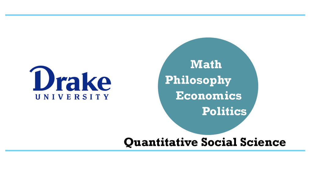 Philosophy Math Economics Politics Quantitative...