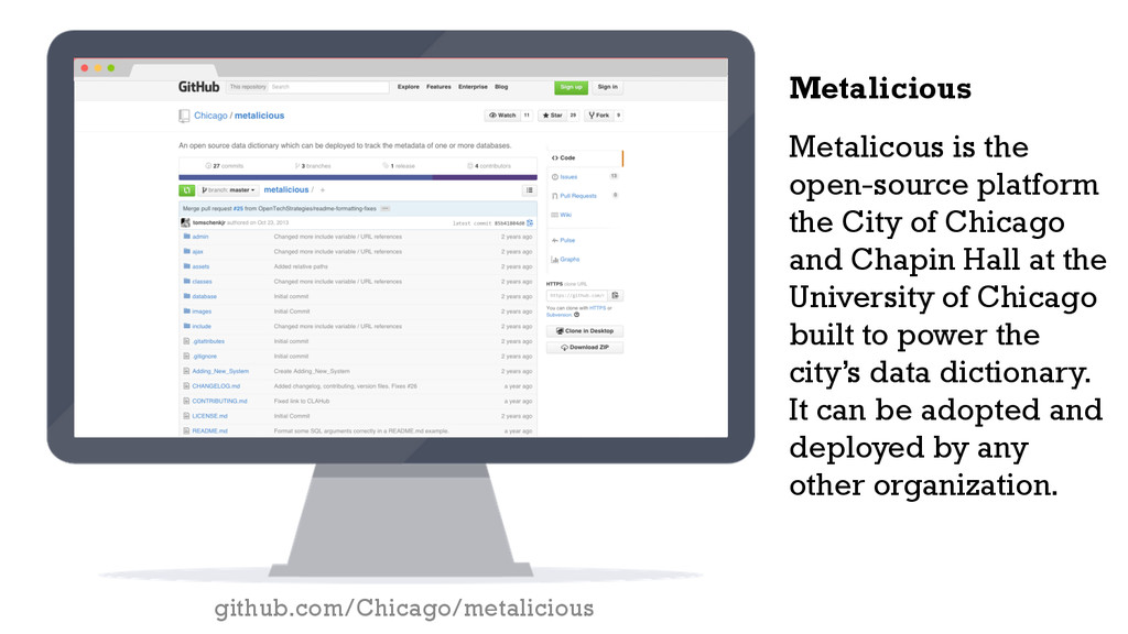 Metalicous is the open-source platform the City...