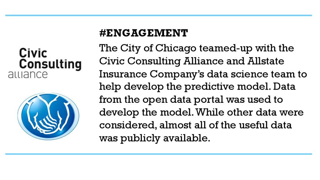 #ENGAGEMENT The City of Chicago teamed-up with ...
