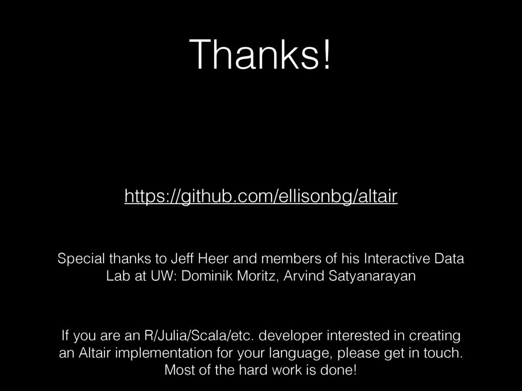 Thanks! https://github.com/ellisonbg/altair If ...
