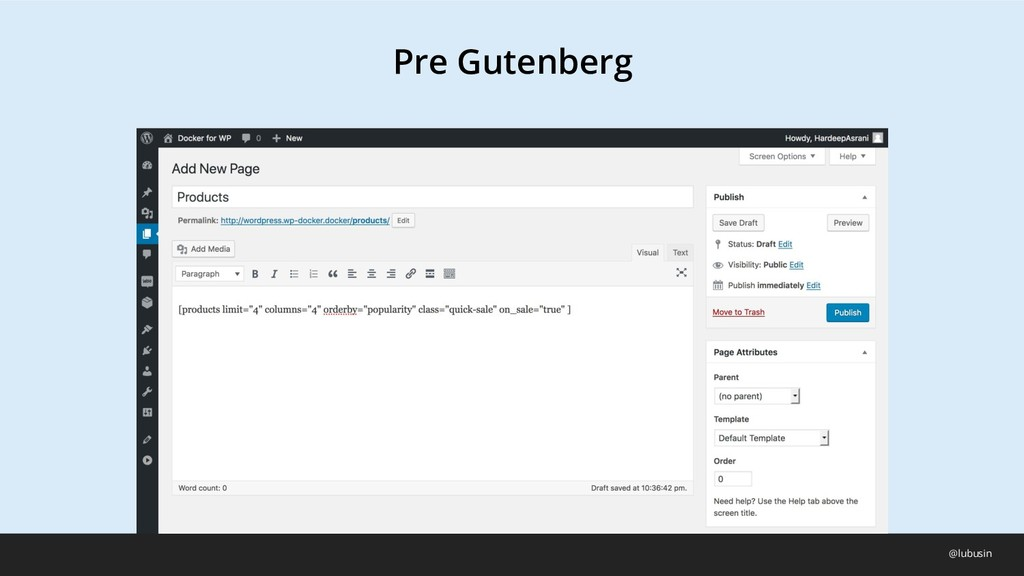 Pre Gutenberg @lubusin