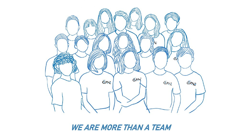 WE ARE MORE THAN A TEAM