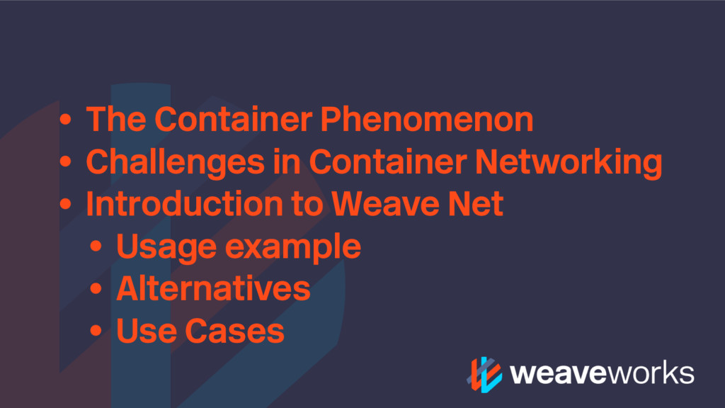 • The Container Phenomenon • Challenges in Cont...