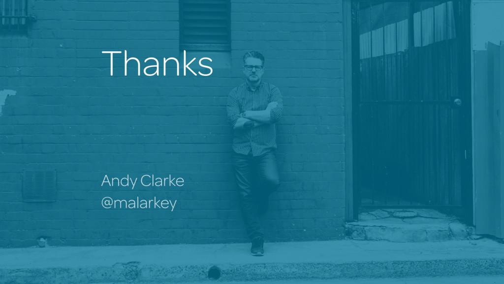 Thanks Andy Clarke @malarkey