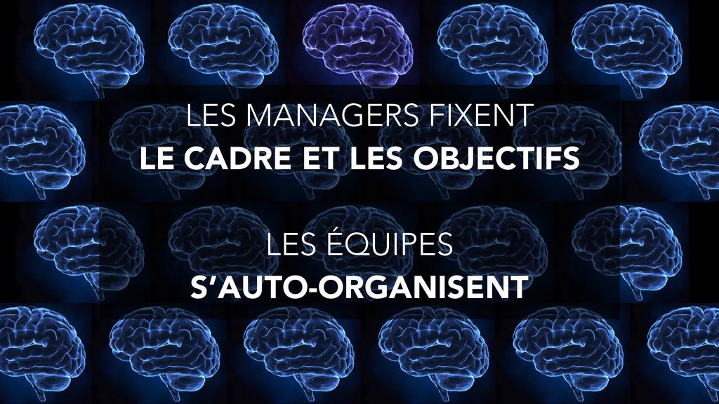 LES MANAGERS FIXENT LE CADRE ET LES OBJECTIFS ...