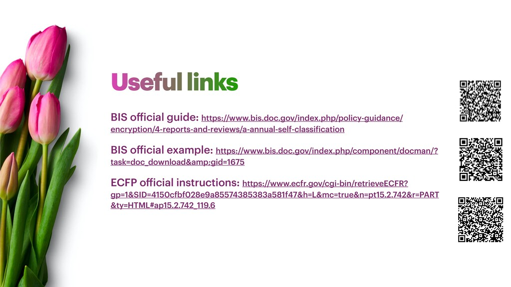 Useful links BIS official guide: https://www.bi...