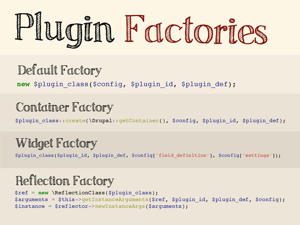 new $plugin_class($config, $plugin_id, $plugin_...