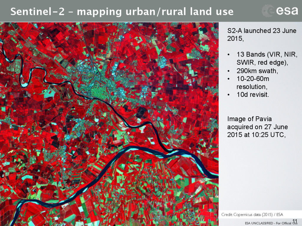 ESA UNCLASSIFIED - For Official Use Sentinel-2 –...