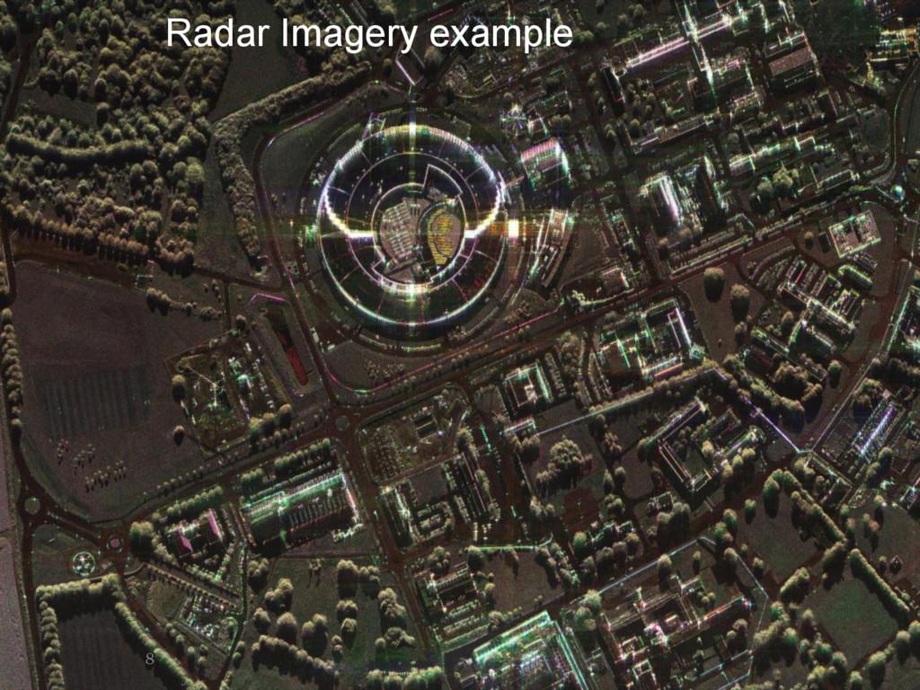 Radar Imagery example 8